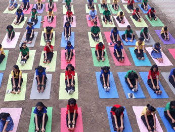 School Activities - yoga